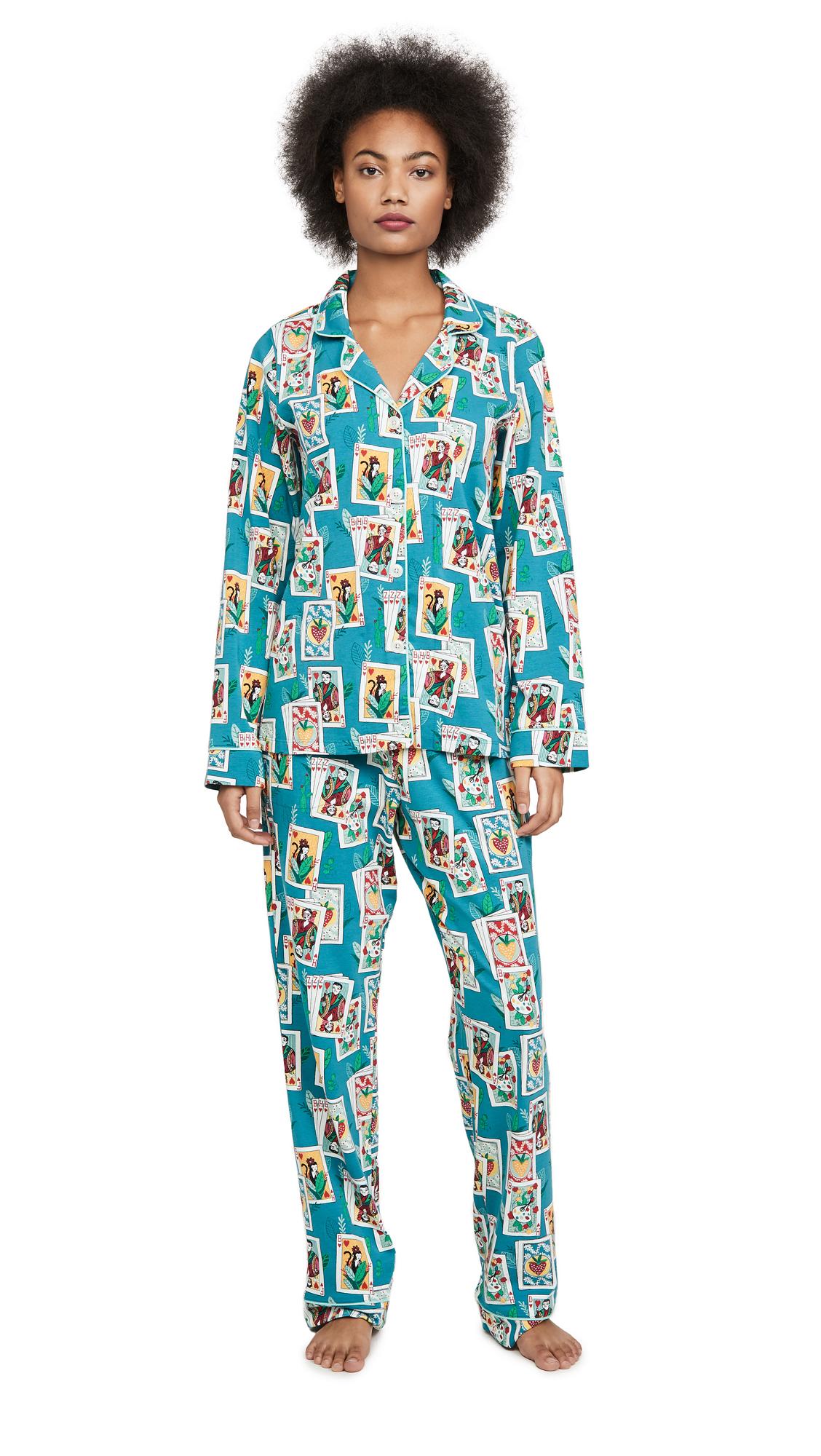 Buy BedHead Pajamas online - photo of BedHead Pajamas Fridas House Of Cards PJ Set