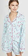 BedHead Pajamas Llama Love Shorty PJ Set