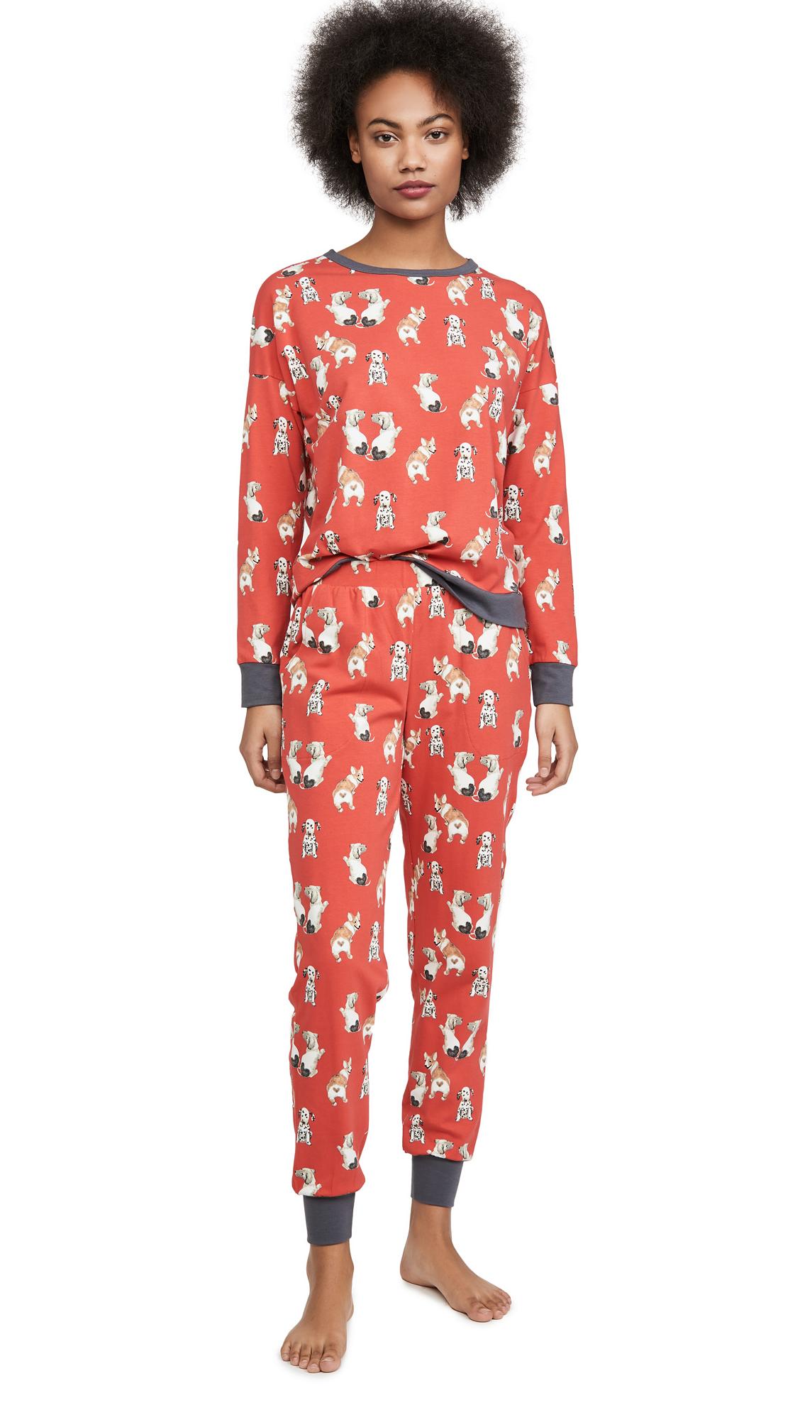Buy BedHead Pajamas online - photo of BedHead Pajamas Sweet Hearts Pullover Crew & Joggers Set