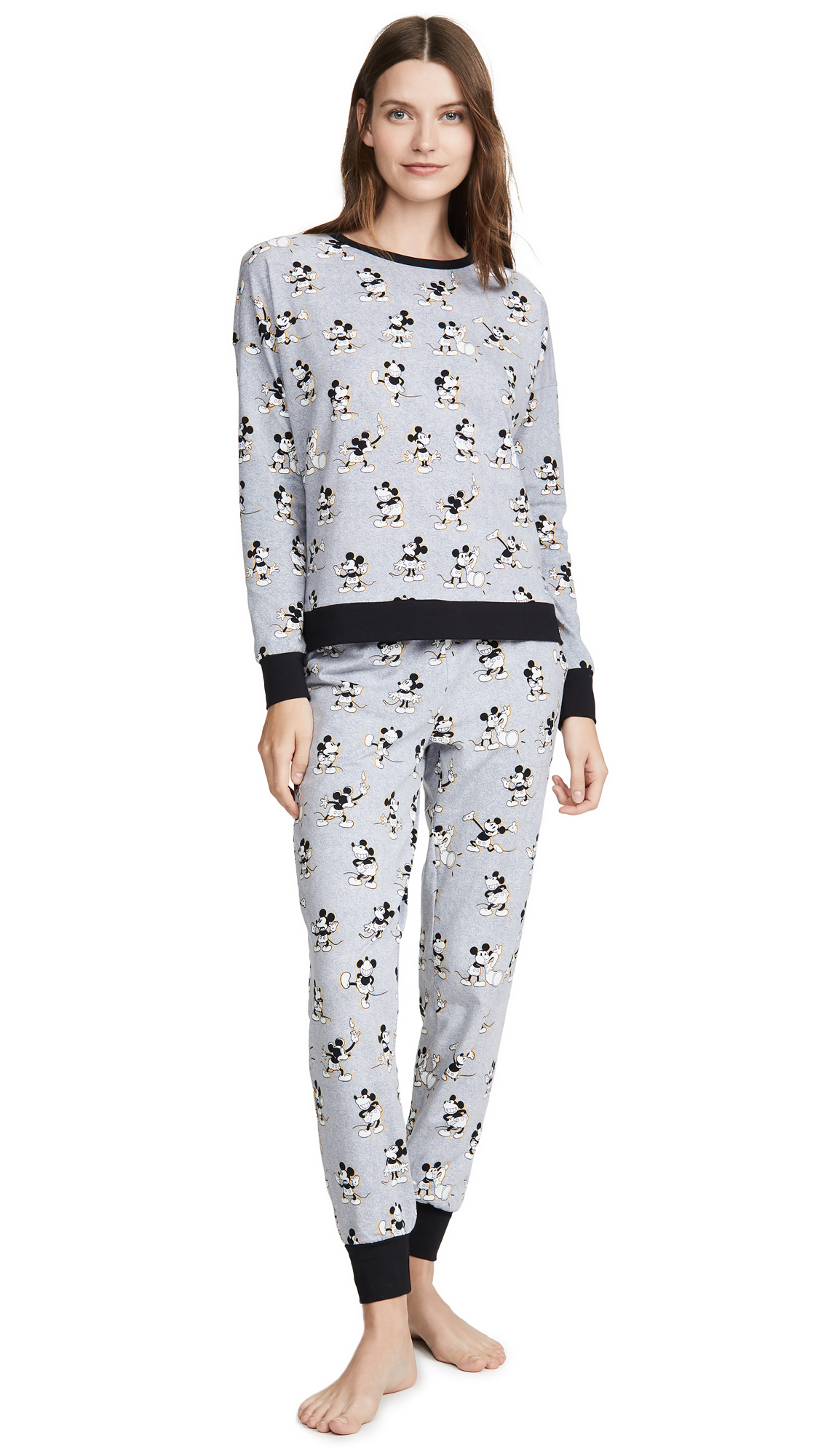 Buy BedHead Pajamas online - photo of BedHead Pajamas x Disney© Vintage Mickey Jogger PJ Set