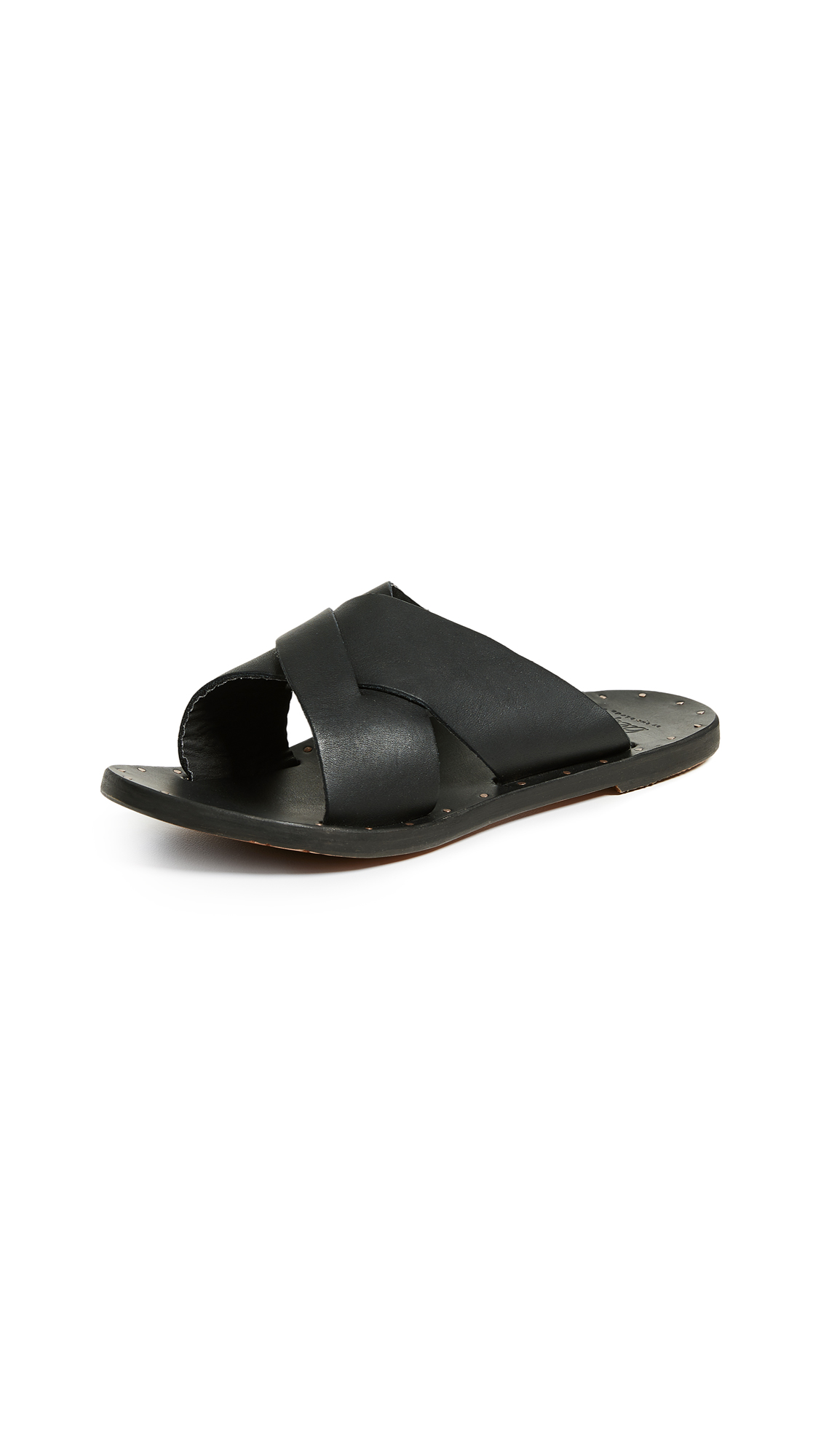 beek Gull Slide - Black/Black