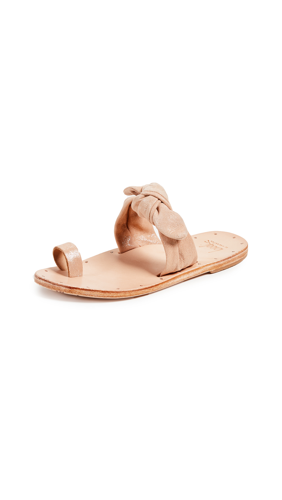 Outlet For Nice Fashionable Online BEEK Lory Sandal in Metallic Apricot & Tan Cheap Footaction Pictures Sale Online pUHofI7JHp