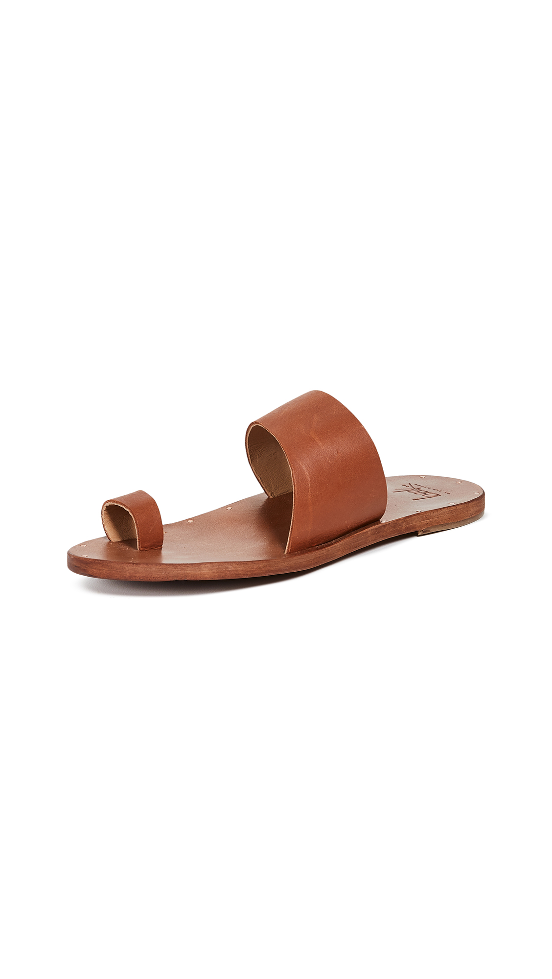 BEEK Finch Sandals in Tan/Tan