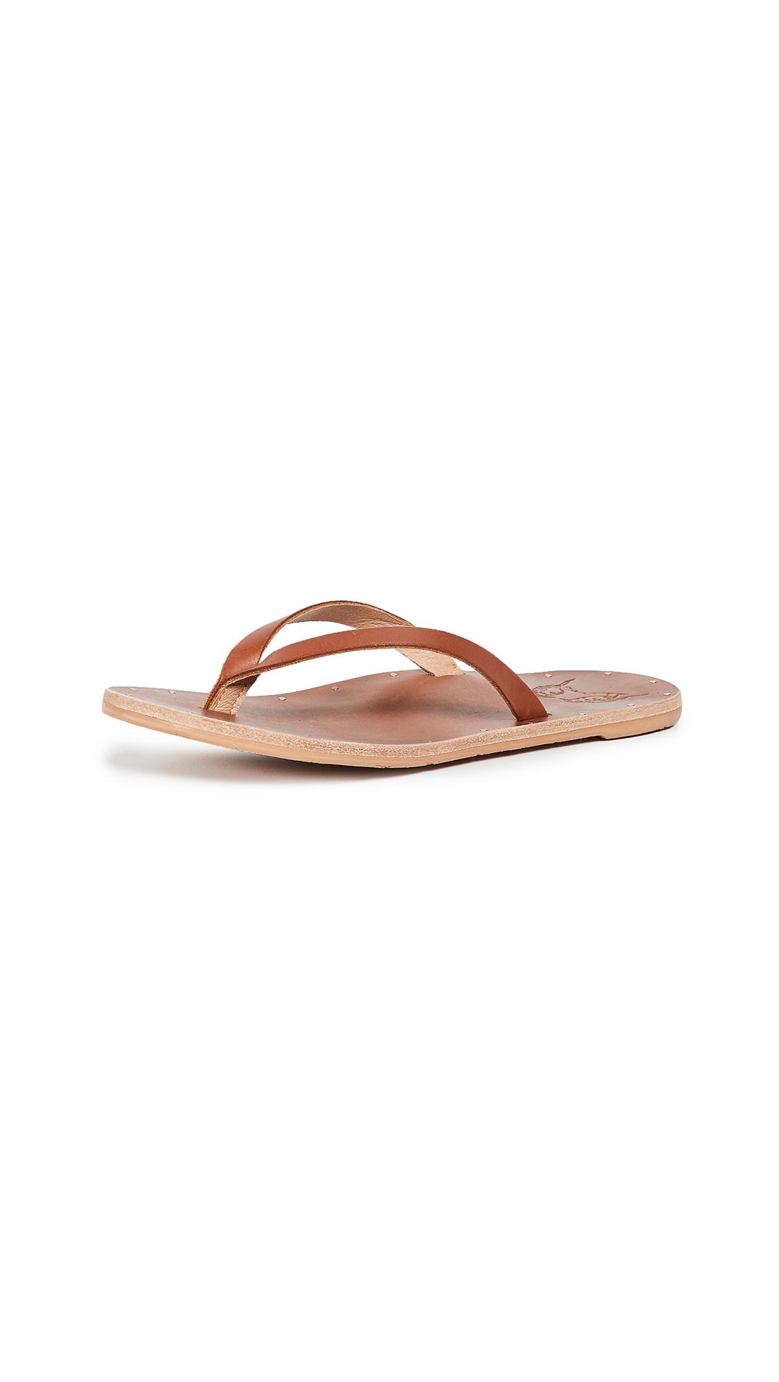 beek Seabird Flip Flops - Tan/Tan
