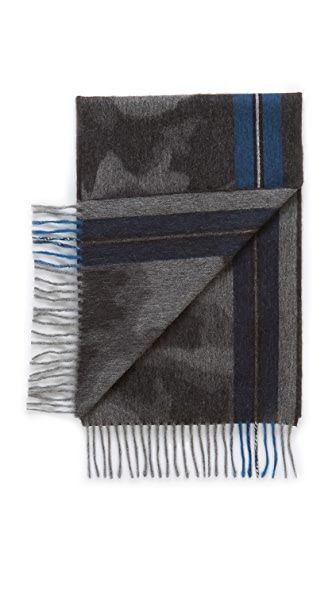 Begg & Co. Camo Stripe Scarf