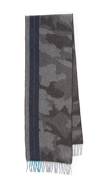 Begg & Co. Camo Stripe Scarf