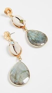 eb64b59bd4b42d Green Earrings | SHOPBOP