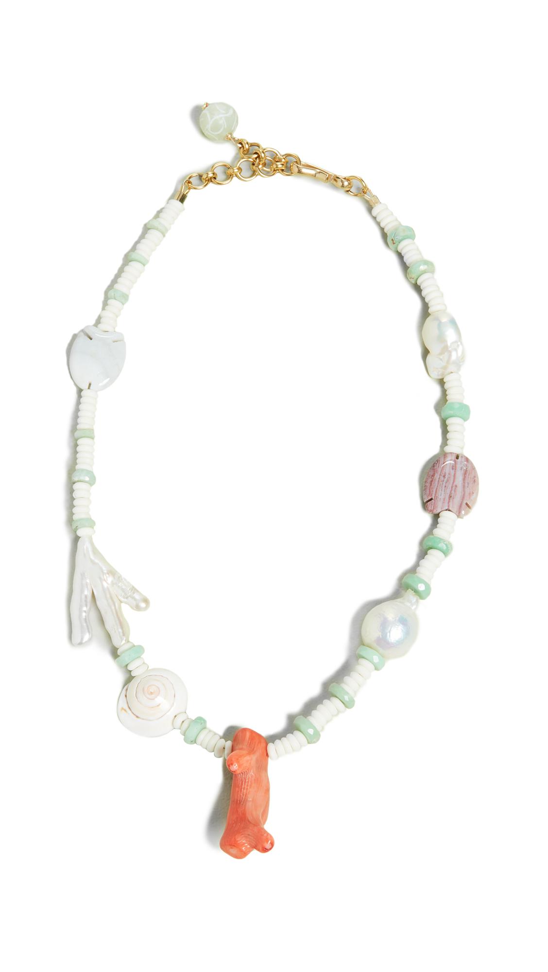 Brinker & Eliza Bay Ave Necklace - Pearl/Multi