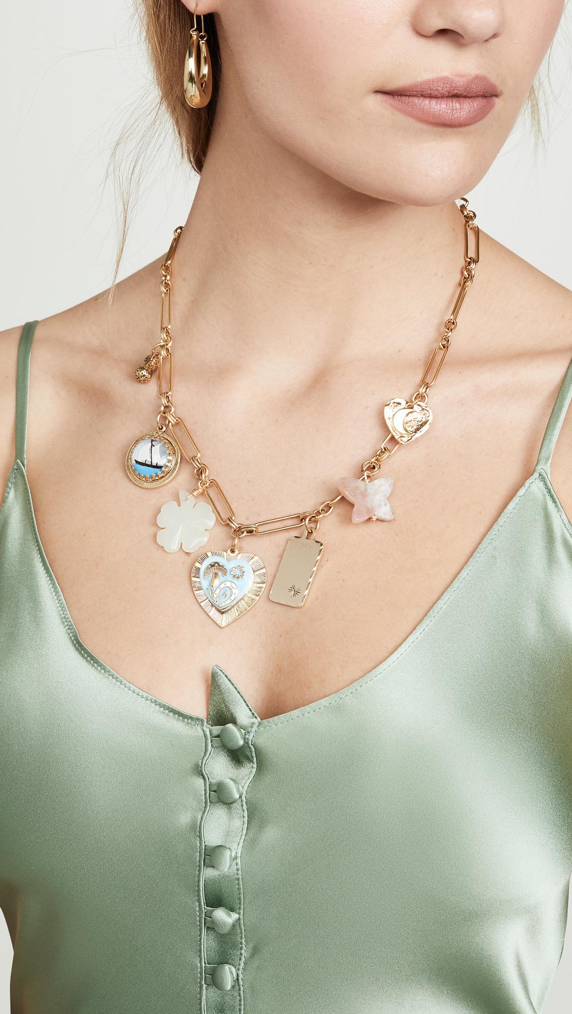 1690fa5752de5b Brinker & Eliza Mischief Managed Charm Necklace | SHOPBOP
