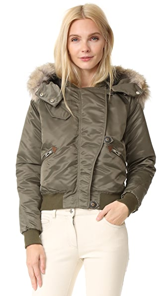 Belstaff Bovet Jacket with Fur