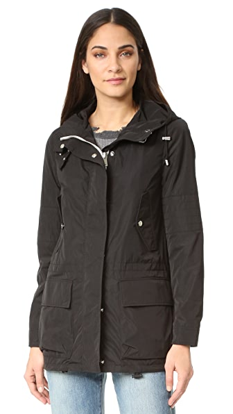 Belstaff Cottingham Coat In Black