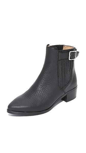 Belstaff Albaz Ankle Boots - Black