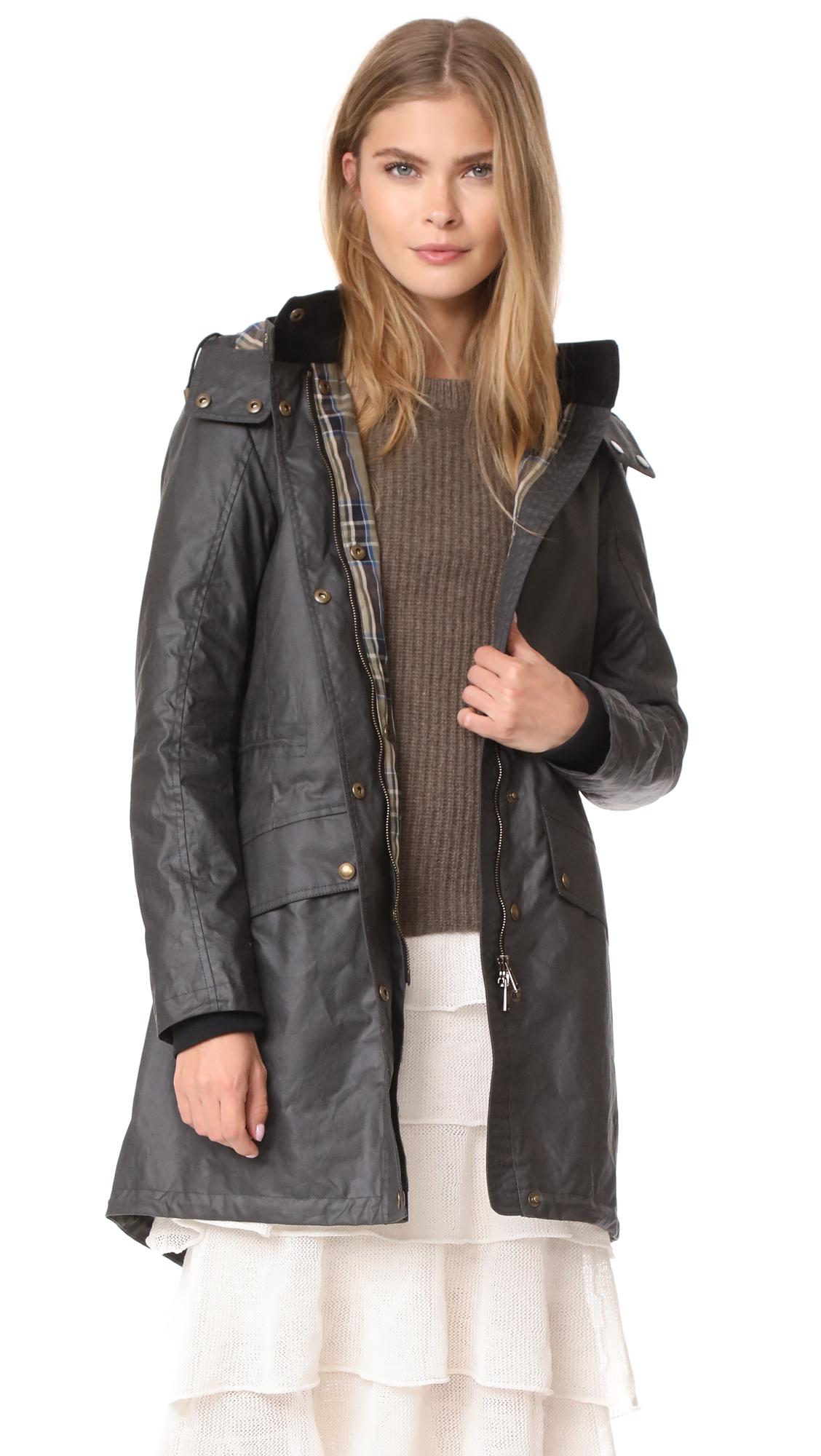 Belstaff Wembury Waxed Cotton Jacket - Winward Grey