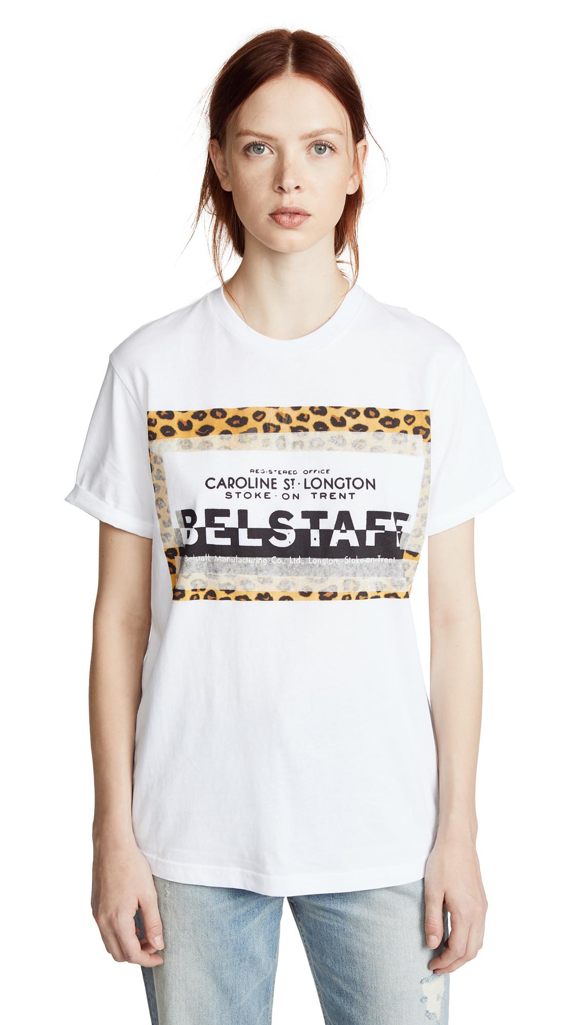 Belstaff Perrins Leopard Tee