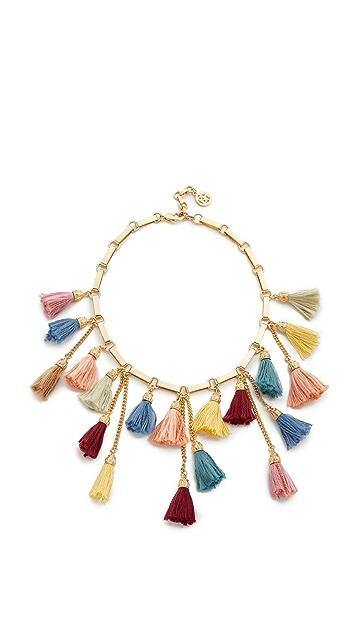Ben-Amun Tassel Bib Necklace