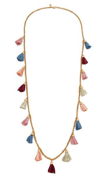 Ben-Amun Tassel Strand Necklace