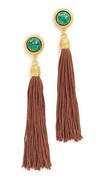 Ben-Amun Post Tassel Earrings