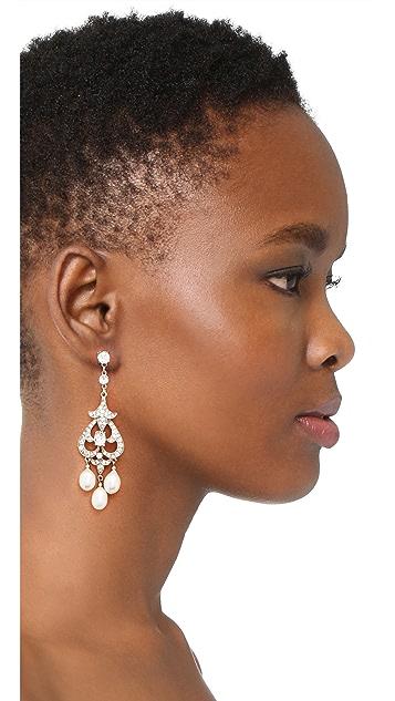 Ben-Amun Chandelier Post Earrings
