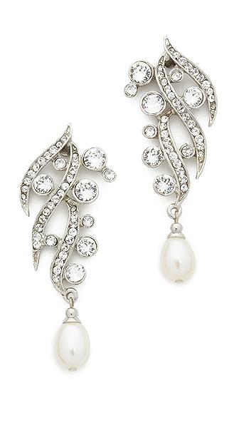 Ben-Amun Branch Crystal Drop Earrings
