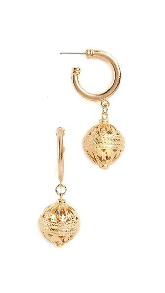 Ben-Amun Post Earrings In Gold