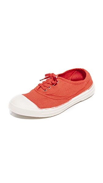 Bensimon Tennis Lacets Sneakers - Poppy