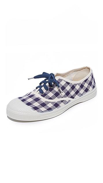 Bensimon Tennis Vichy Lin Lacet Sneakers
