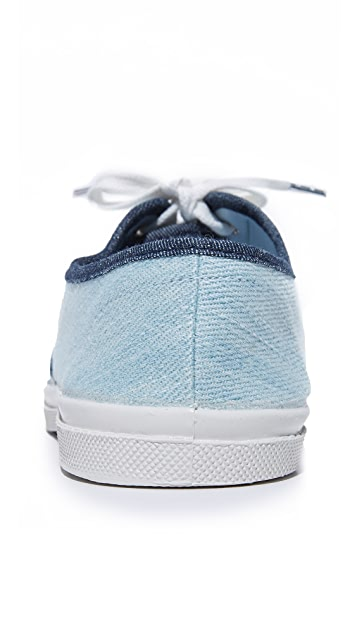 Bensimon Tennis Bleached Denim Sneakers
