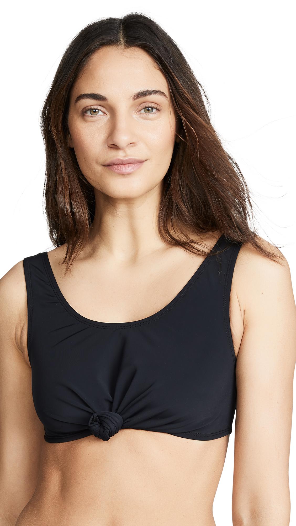 Buy Beth Richards online - photo of Beth Richards Knot Top Bikini Top