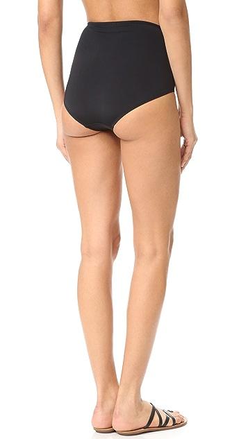 Beth Richards High Waist Mesh Bikini Bottoms