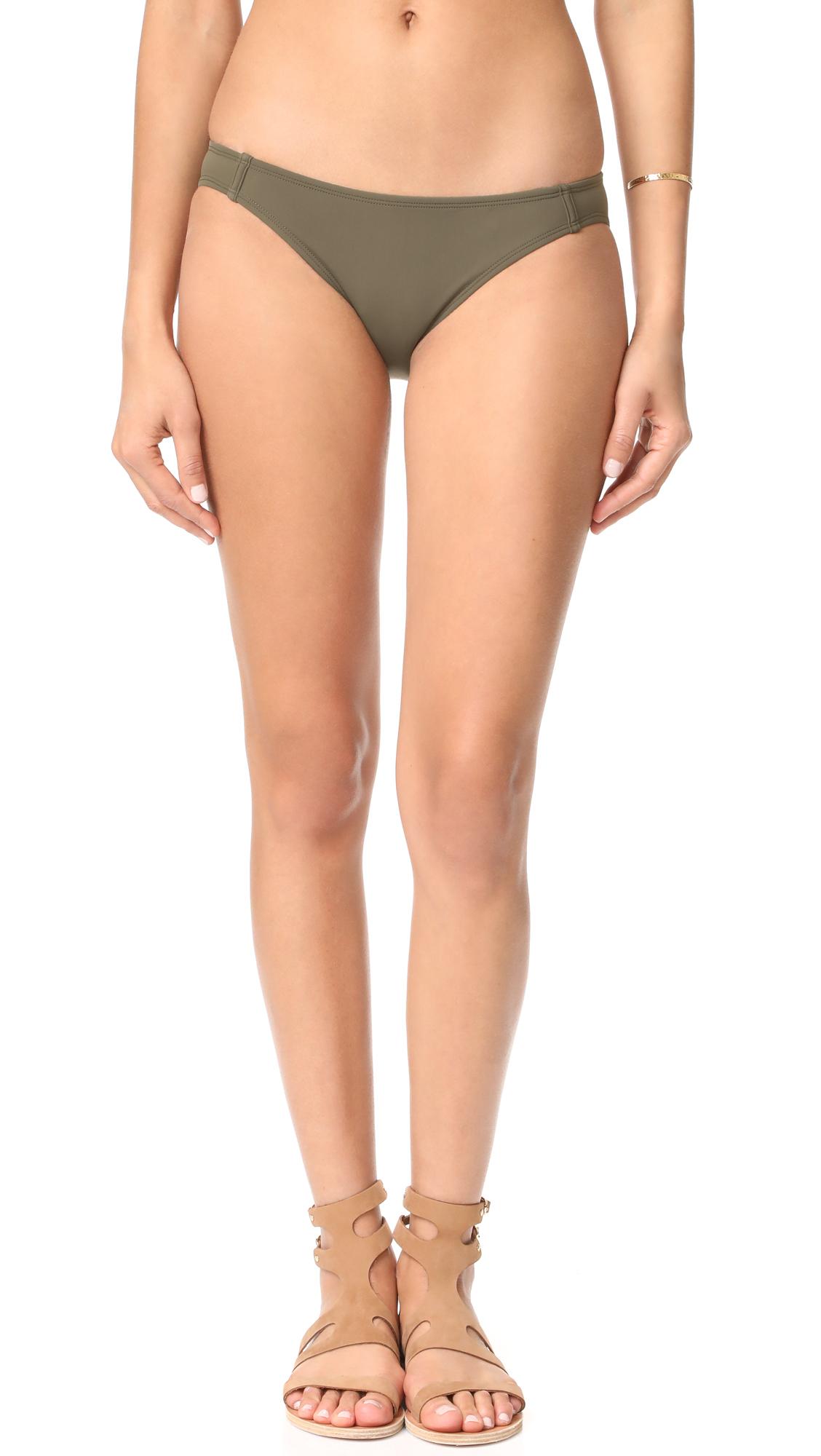 Beth Richards Naomi Bikini Bottoms - Khaki