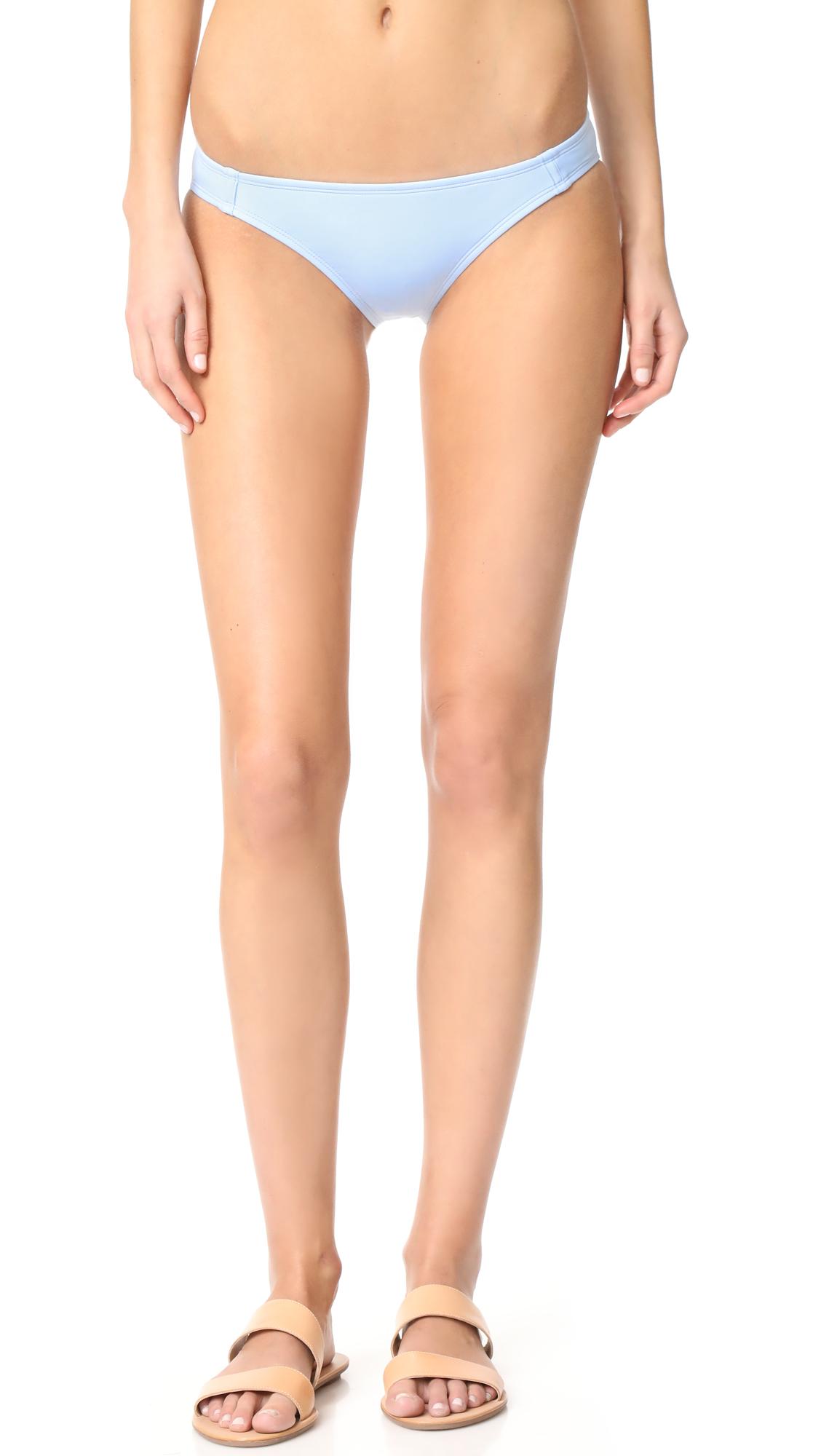 Beth Richards Naomi Bikini Bottoms - Chambray