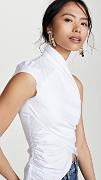 26415a6890300 Chic White Tops And Blouses