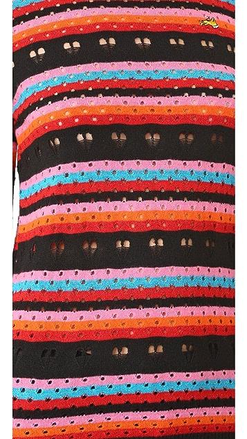 Bella Freud Rainbow Love Lace Jumper
