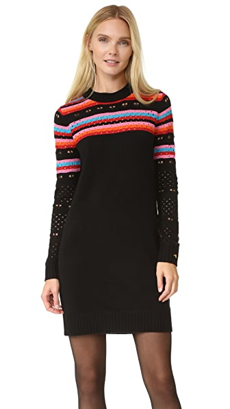 Bella Freud Rainbow Love Lace Dress - Rainbow