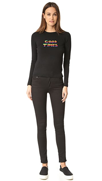 Bella Freud Sparkle Good Times Cashmere Sweater