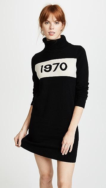Bella Freud 1970 Turtleneck Dress