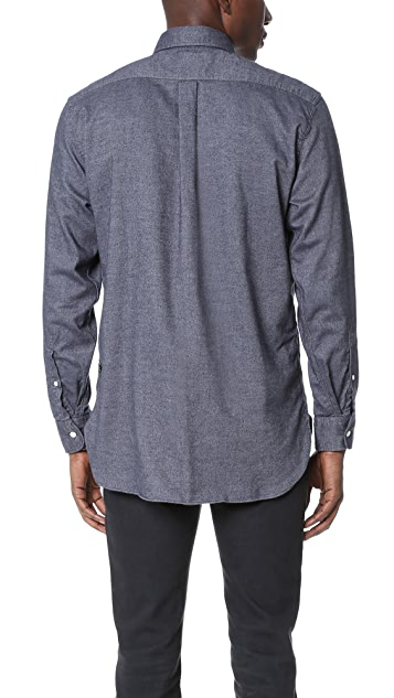 Billy Reid Brushed Twill Shirt