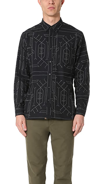 Billy Reid Tuscumbia Shirt