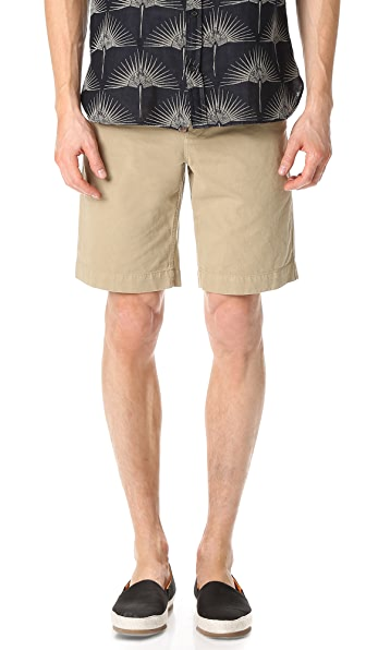 Billy Reid Clyde Cotton Shorts