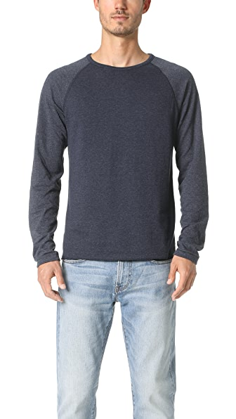 Billy Reid Arnold Crew Neck Sweatshirt