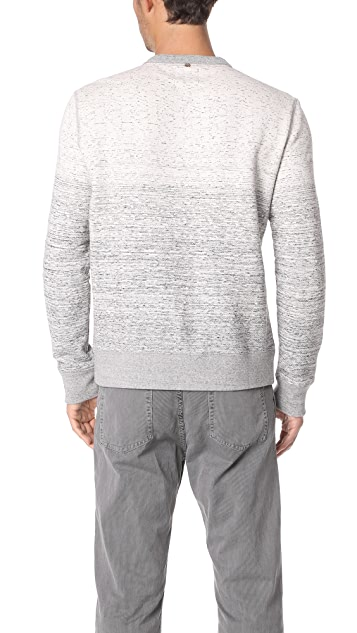 Billy Reid Gradient Crew Sweatshirt