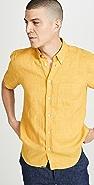 Billy Reid Tuscumbia Short Sleeve Shirt