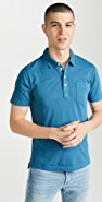 Billy Reid Short Sleeve Pensacola Polo Shirt