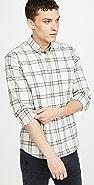 Billy Reid Plaid Button Down Shirt