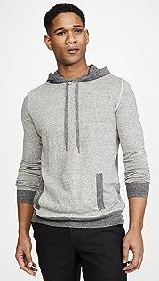 Billy Reid Contrast Stitch Pullover