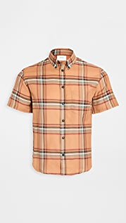 Billy Reid Kirby Short Sleeve Slim Shirt