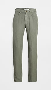 Billy Reid Cotton Linen 5 Pocket Pants