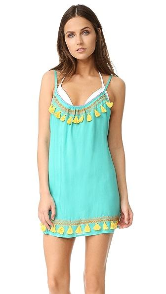 Bindya Boho Tassels Cover Up Dress