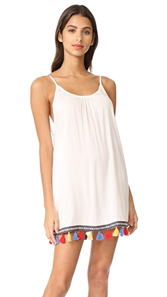 Bindya Boho Love Short Dress - White