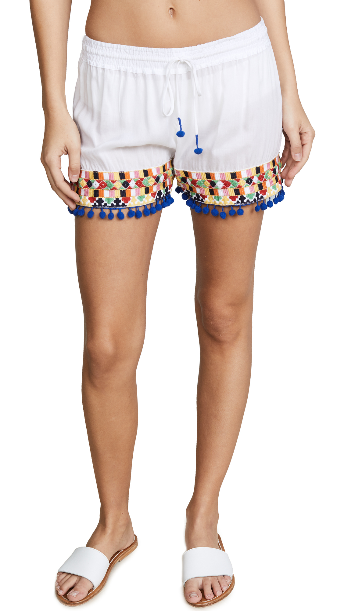 Bindya Colored Mirror Shorts
